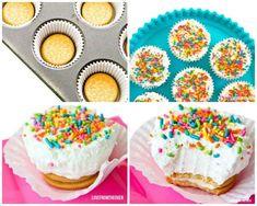 Recette de mini cheesecake Oreo sans cuisson. 10 Recettes faciles et rapides quand on n'a pas de four