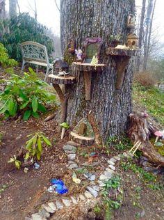 43 beautiful and easy fairy garden ideas for kids 2 - Fairy garden designs, Fairy garden decor, Fairy garden diy, Fairy tree houses, Miniature fairy gard -