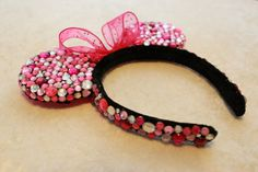 rhinestone minnie ears