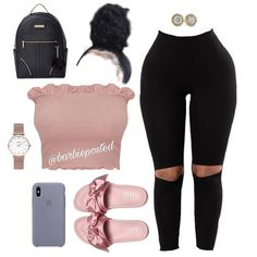 Discover recipes, home ideas, style inspiration and other ideas to try. Swag Outfits For Girls, Boujee Outfits, Cute Swag Outfits, Teenage Girl Outfits, Cute Outfits For School, Dope Outfits, Girly Outfits, Teen Fashion Outfits, Pretty Outfits