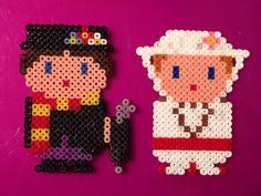 Mary Poppins Disney Hama Perler Beads by Tam Artesania
