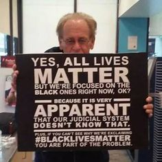 All people matter...the Broken  Justice System + Republikkkan Party of Hate see it differently!!