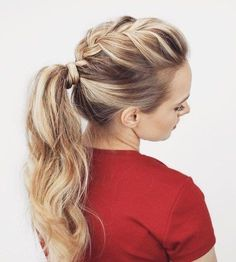 Ponytail Hairstyles 59 Easy Ponytail Hairstyles For School Ideas  Hairstylest