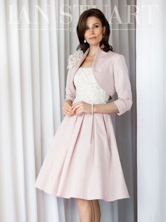 Ian Stuart full skirted dress with jacket in vanilla/ivory (not pictured colour) - 399 - Catherines of Partick Full Skirt Dress, Blouse And Skirt, Jacket Dress, Mother Of Bride Outfits, Mother Of The Bride, Dresses For Work, Formal Dresses, Wedding Dresses, Wedding Outfits
