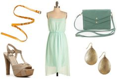 Color Combo to Try: Mint Mustard - College Fashion