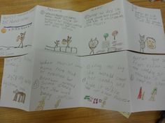 Foldables for Language Arts | This was sequencing from our Halloween Day using Harriet's Halloween ...