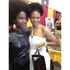 #ThrowbackThursday: With the beautiful Kimberly Elise at the #WorldNaturalHairShow in May 2012.  #TBT @ikimberlyelise @NaturalHairShow #WNHS #KimberlyElise #naturalhair #TeamNatural #naturalhairjourney #afros #naturalista #naturlhairmovement #naturalhaircommunity #naturalhairstar #beauty #haircare #KarensBodyBeautiful #naturalhaircare #naturalbeauty #healthyhair