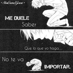 anime frases anime frases sentimientos ShuOumaGcrow dolor