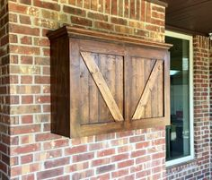 Protect Your Outdoor Tv With A Beautiful Custom Cabinet Doors Open Vertical Lifting System