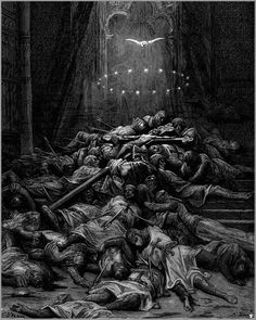 A Celestial Light, Gustave Dore, Image via http://www.wikiart.org/en/gustave-dore