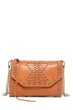 long strap leather bag