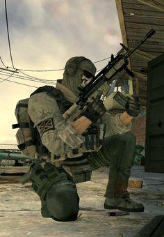 "Call of Duty: Modern Warfare 2 - Simon ""Ghost"" Riley - Task Force 141"