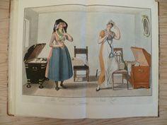 """""""Alte Zeit"""" - """"Neue Zeit"""" Hamburgische Trachten. Costumes de Hambourg. 1812."""