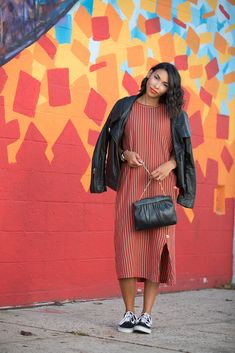 3 Style Tips For Wearing A T-Shirt Dress