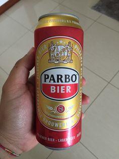Parbo Pilsener Can. Suriname
