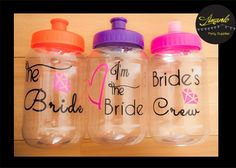 Party Gifts, Party Favors, Flamingo Birthday, Personalized Tumblers, Bridal Shower, Wedding Photos, Dream Wedding, Water Bottle, Bridesmaid Dresses