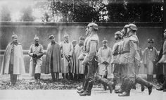 German troops at the front parade for the Kaiser and his coterie. Fanatic about uniforms and the military, Wilhelm enjoyed mingling with his soldiers. Not all of them felt the same, however. A couple...