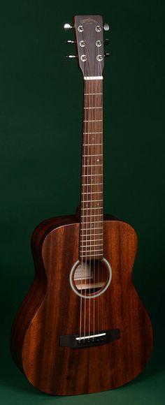 SIGMA GUITARS TM-15 Travel Akustik-Gitarre inkl. Gigbag, natur