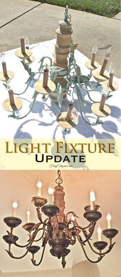 Light Fixture Update