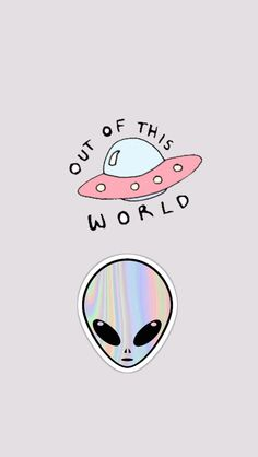 Alien, et, extraterrestrial, out of this world Et Wallpaper, Tumblr Wallpaper, Lock Screen Wallpaper, Iphone Wallpaper, Pastel Wallpaper, Phone Backgrounds, Wallpaper Backgrounds, Ufo, Illustration Mignonne