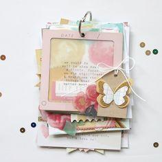 stephanie makes: Crate Paper: Identity board, Video & Mini Album