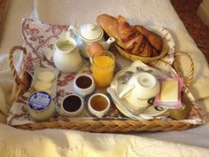 Parisian Breakfast in bed