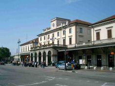 Railways station, Novara, Italy