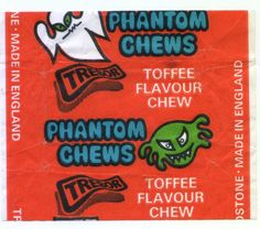 Anyone else remember Trebor Phantom Chews (Toffee)