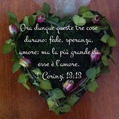 1 Corinzi 13:13