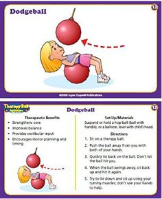 Reduce planning time with 60 super duper therapy ball activities.