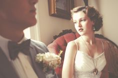 Absolutely gorgeous wedding shoot inspired by 1920's travel. Wow.