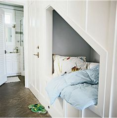 We will have a cupboard under the stairs one day and I will sleep there. And it will be magical.