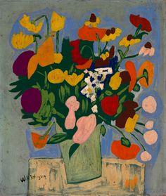 Flowers - William H. Johnson