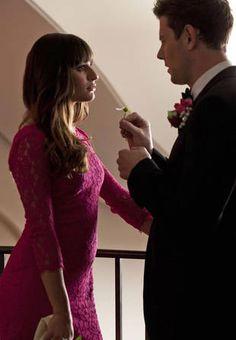 """Rachel and Finn in Glee Season 4, Episode 14: """"I Do"""""""