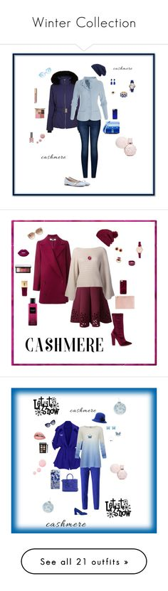 """Winter Collection"" by michelechambers ❤ liked on Polyvore featuring Fusalp, 2LUV, Gucci, Kenzo, Karen Walker, Hinge, Casetify, Monet, Kenneth Jay Lane and Effy Jewelry"