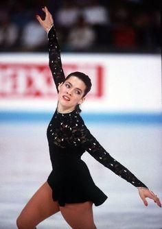 Nancy Kerrigan is a very famous American figure skater.