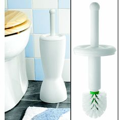 The Hygienic Toilet Brush - From Lakeland Toilet Brush, Best Carpet, Cool Inventions, Super Clean, How To Clean Carpet, Bathroom Accessories, Kitchenware, Cleaning, Cool Stuff