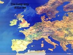 Geography of Europe PowerPoint