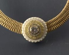 N19-Woven Basket Necklace-