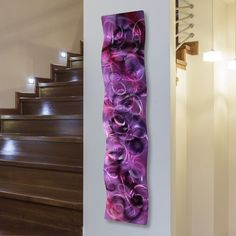 Metal Abstract Modern Painting Wall Art Sculpture Purple Majesty Wave Jon Allen #Statements2000JonAllenMetalArt