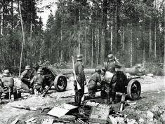 Finnish artillerymen, Winter War - pin by Paolo Marzioli