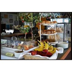 Continental breakfast in the #Greenporter Hotel #delicious #hotel #cuvee #welcome