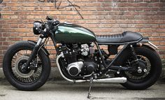 Kawasaki Z1000 ST Custom Brat Style Motorcycle - RidersLine.com.au