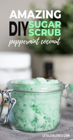 DIY Peppermint Cocon