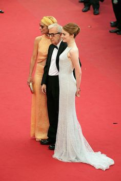 Emma Stone, Woody Allen y Parker Posey - Cannes 2015
