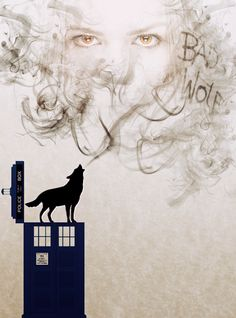 Bad Wolf. I create myself. Didn't know whether to put this on Doctor Who or my tattoo board
