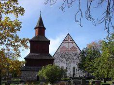 Inkoon keskiaikainen kirkko-----the medieval church of Inkoo, Finland