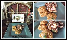 """Mom's Christmas Cookies & Marshmallow Rolls, """"Just North of Wiarton & South of the Checkerboard"""""""