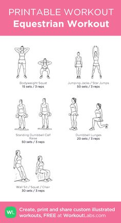 Equestrian Workout –