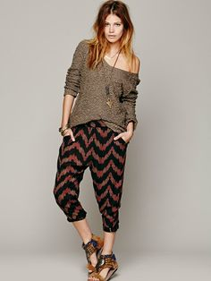 Free People Shaggy Knit Jumper
